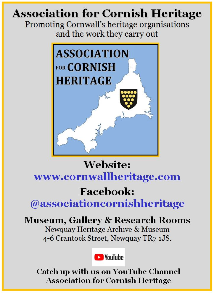 Association for Cornish Heritage - General Poster