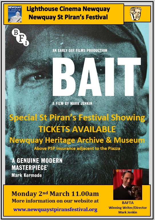 BAIT Poster - Tickets Available Here Newquay Heritage Archive & Museum