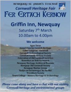 Fer Ertach Kernow - Cornwall Heritage Fair
