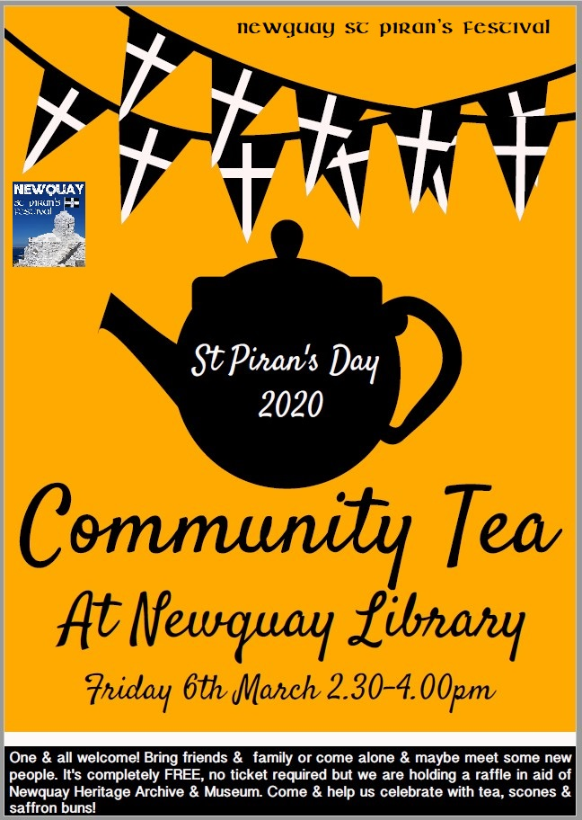 Library Community Tea - St Pirans