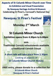 St Columb Minor Church Talk & EXPO