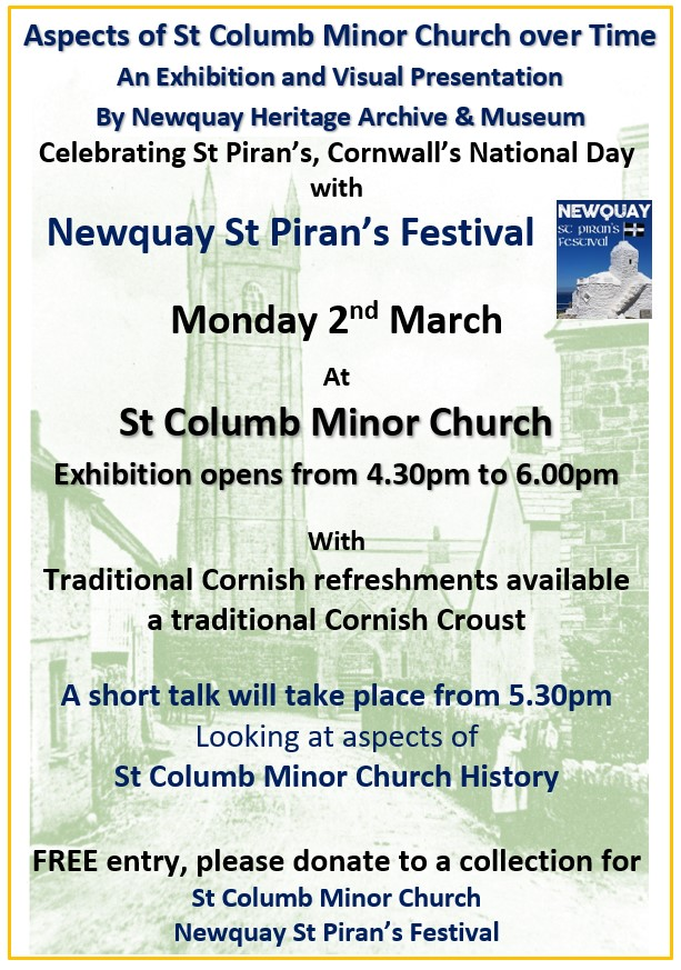 St Columb Minor Church Talk & EXPO