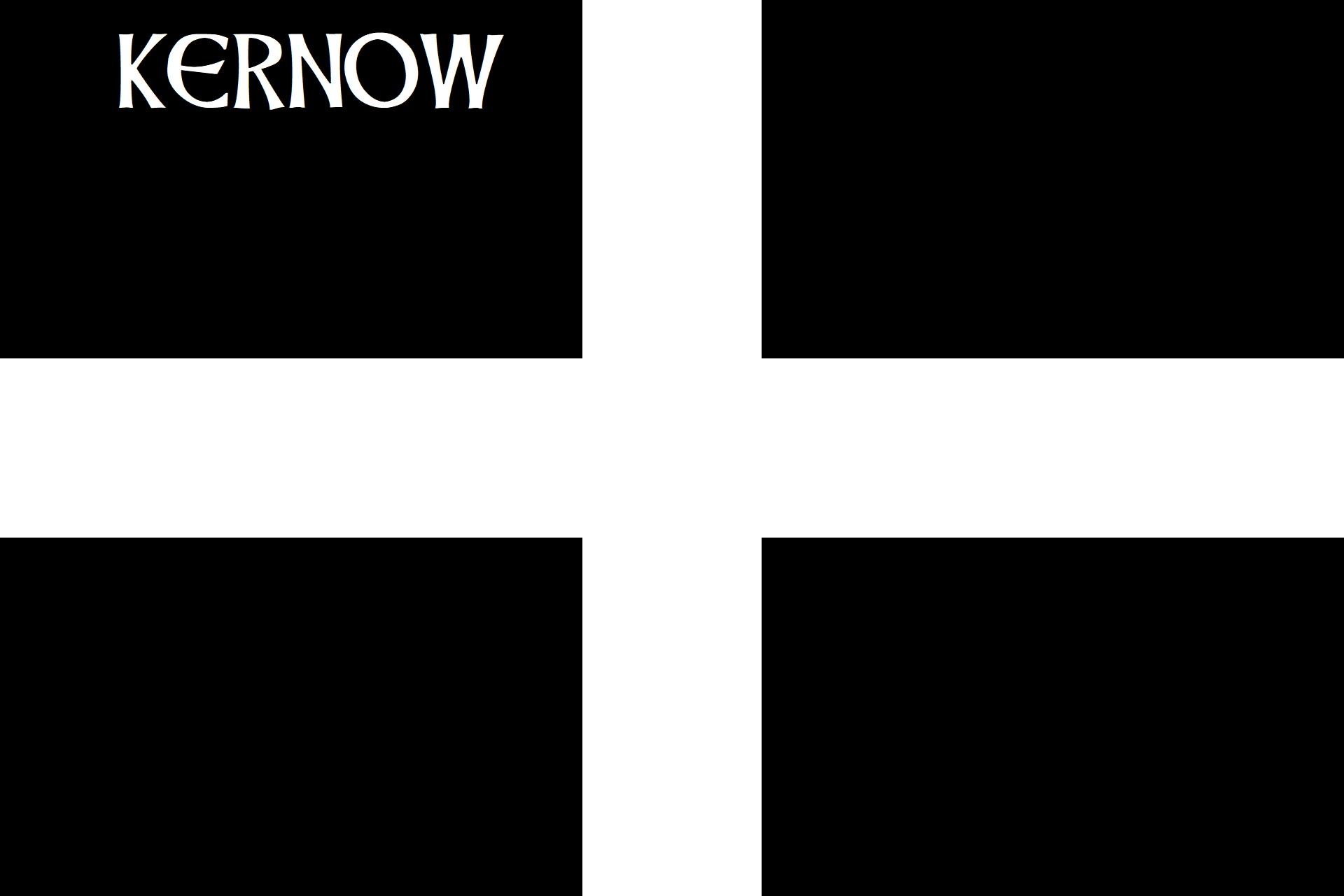 Baner Sen Peran - 'Kernow'