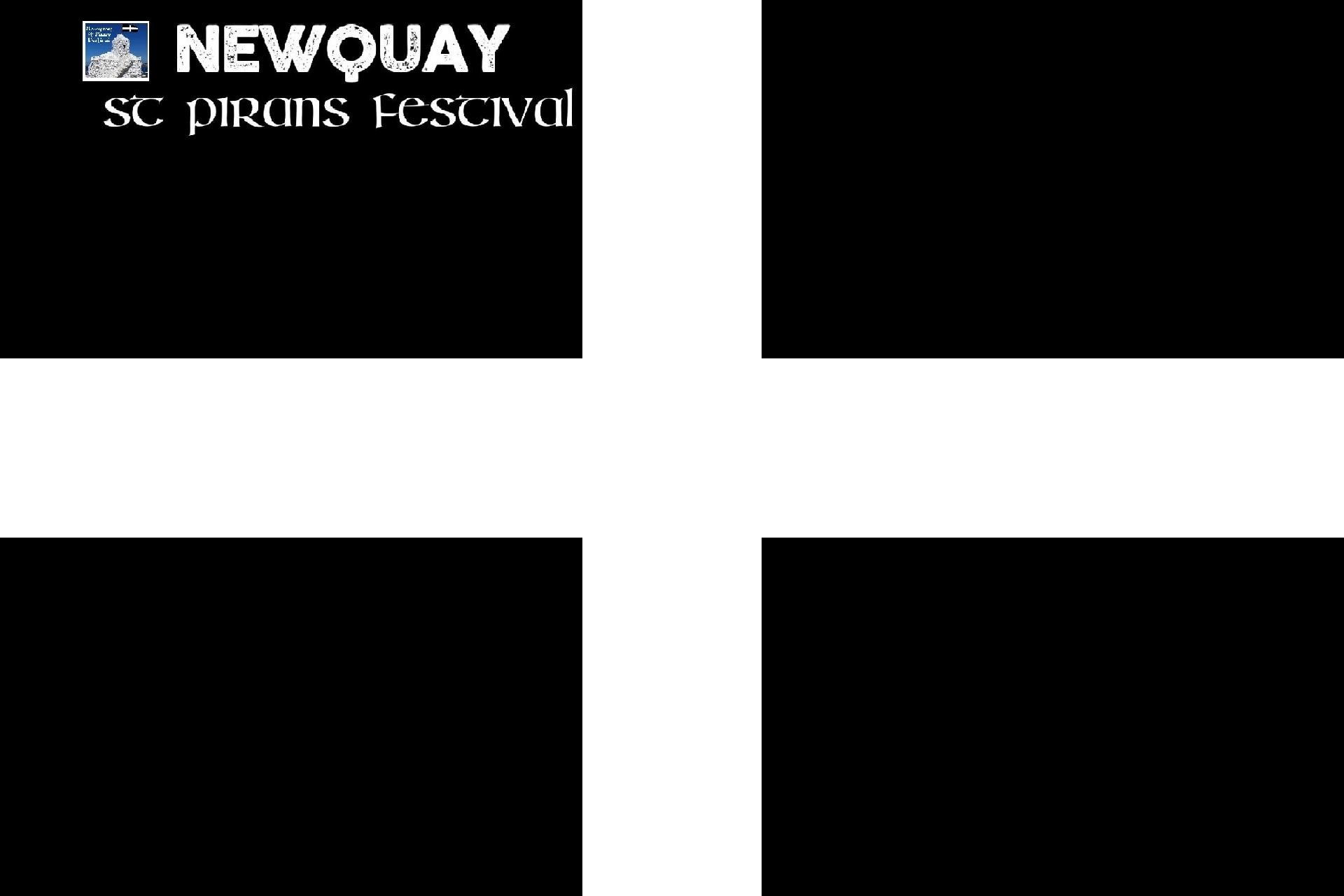 Baner Sen Peran - 'Newquay St Piran's Festival'
