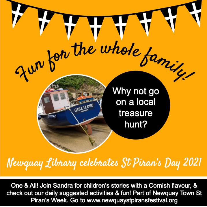 Newquay Library - Treasure Hunt