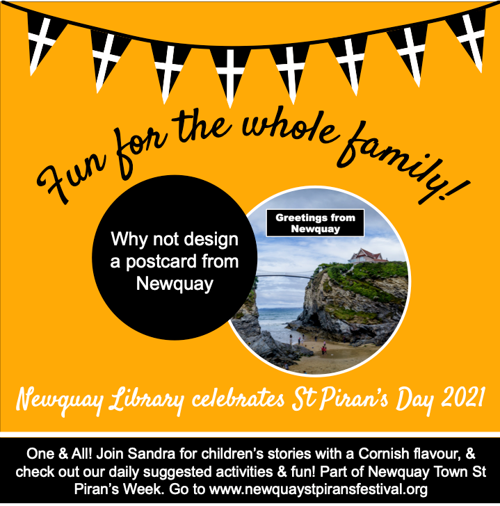 Newquay Library - Design a Postcard