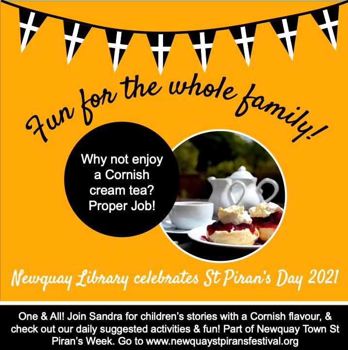 Newquay Library - Cream Tea